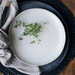 Assiette Pion gris/blanc House Doctor
