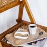 Tasse à espresso en grès beige, marron ou noire House Doctor