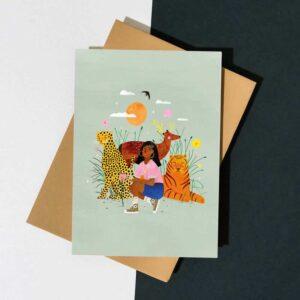 Carte postale Best Team – Laura Lhuillier