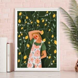 Lemonade – Laura Lhuillier – Affiche A4