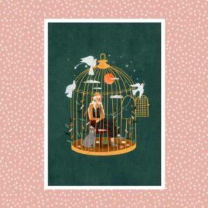 The Birdcage – Laura Lhuillier – Affiche A4