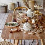 Chemin de table en jute Bloomingville
