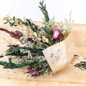 Bouquet fleurs séchées Sasha