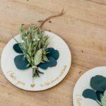 Créations bois et fleurs séchées rond