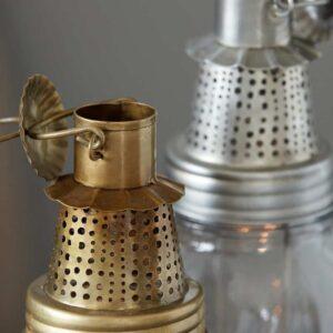 Lanterne, Fhia, Laiton antique House Doctor