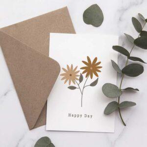 Carte postale Heureuse journée