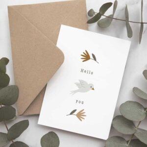 Carte postale Un air de printemps