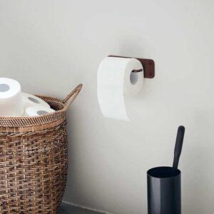 Porte-papier toilette laiton brun, Pati, House Doctor