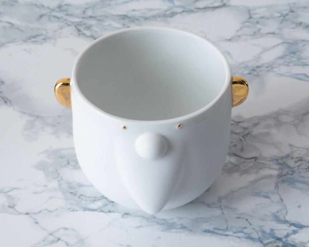 Gobelet en porcelaine Père Noël Räder